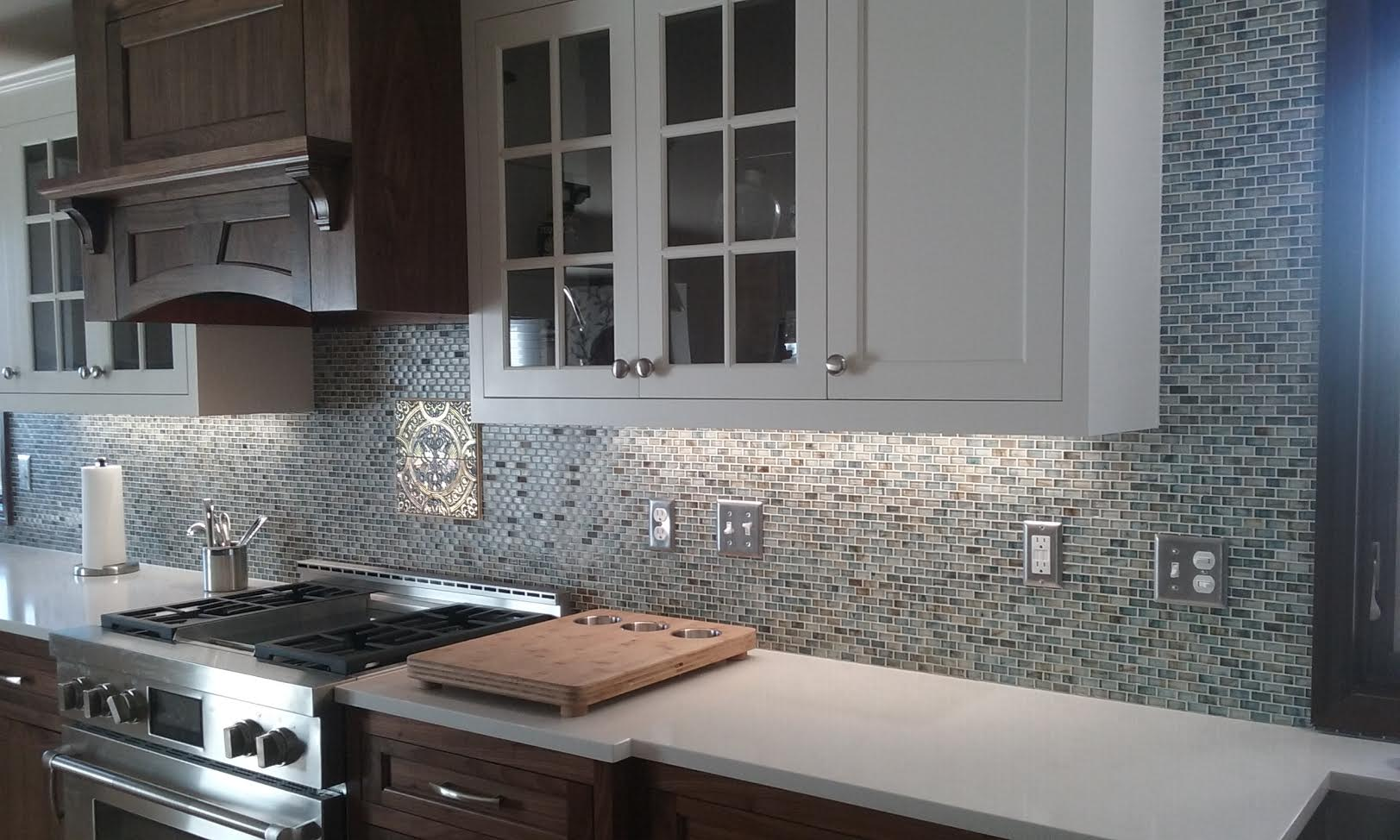 kitchen tile backsplash in Forest Lake, MN